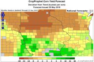 Crop Yield Map