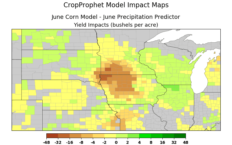June Rain Impacts on Corn Yield - Iowa
