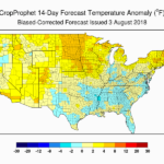 14 Day Forecast - Precipitation Anomalies