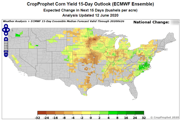 July Corn Futures Price: Impacted by ECMWF?