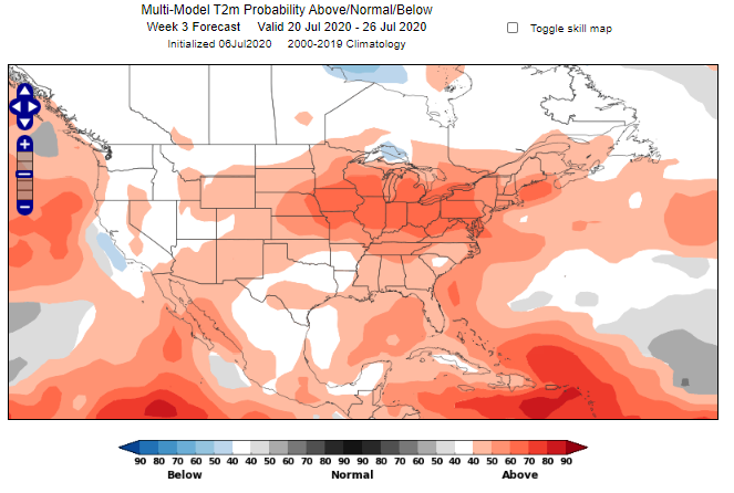 Midwest Heat Wave - Week 3 Forecast